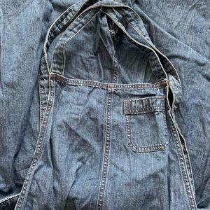 Gap overalls wide leg
